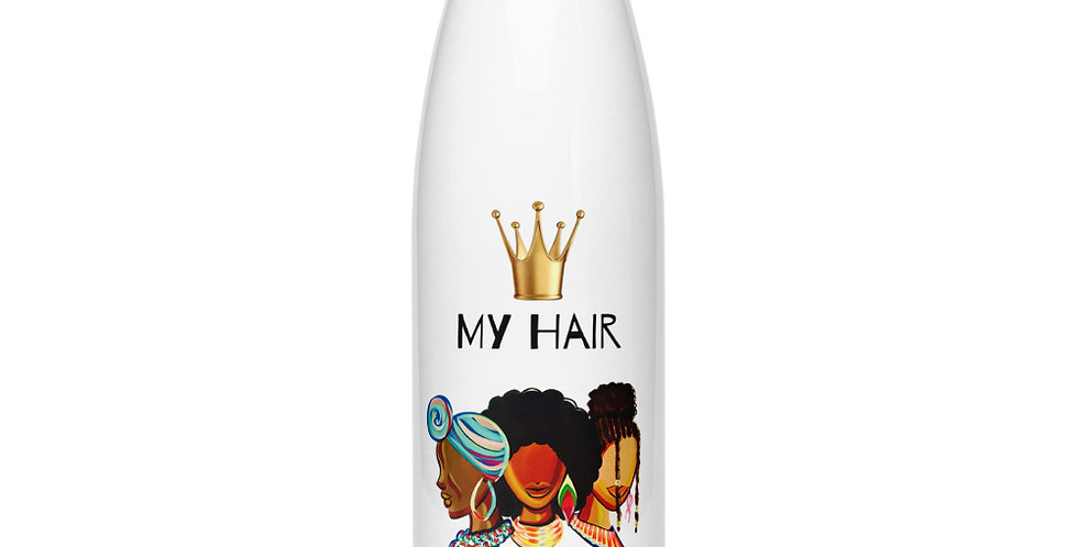 """My Hair My Crown"" Stainless Steel Water Bottle"