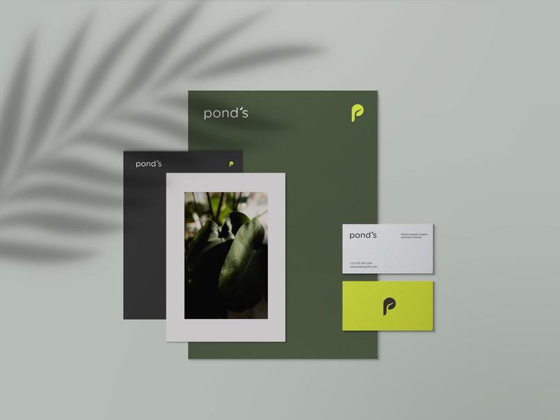 Pond's Rebrand