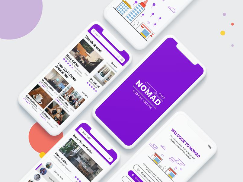 Nomad Cafe Finder App