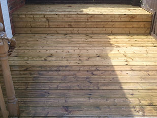 Decking & Wooden Furniture Cleaning