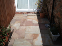 Patio restored
