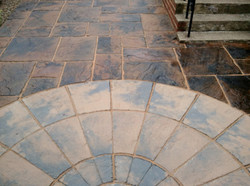 Patio cleaning & sealing