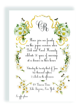 Custom Event Invitations, Anniversary Invitation, Bridal Shower Invitations, Baby Announcements, Wedding Invitation