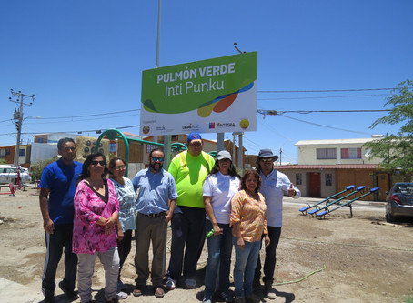 """""""Inti Punku"""": la renovada plaza de la población Inti Rai"""