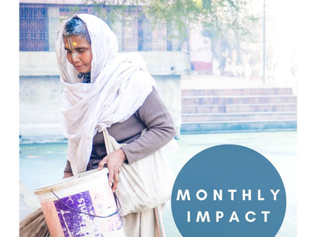 Monthly Impact! August. 2021