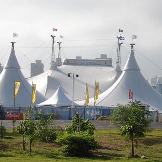 Cirque du Soleil - Show Alegria - Big Top Tour