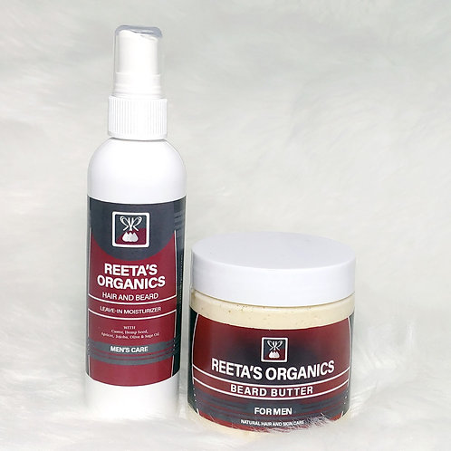 Beard and Hair Grooming Kit