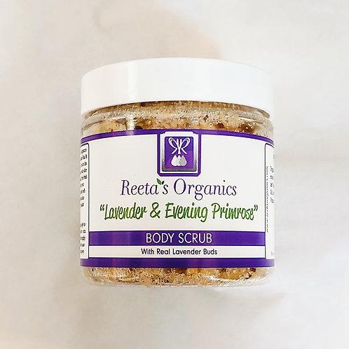 Lavender & Evening Primrose Scrub