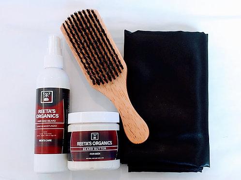 Beard & Hair Care Gift Set