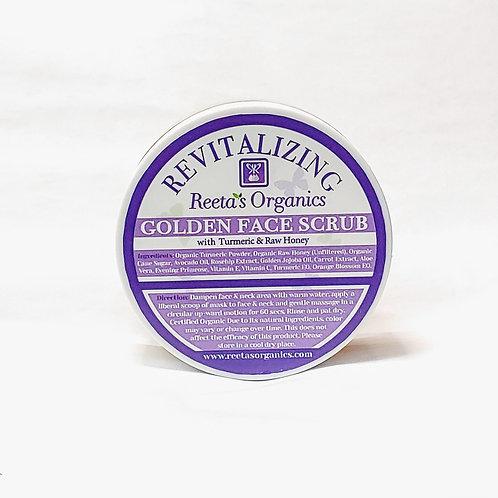 Golden Face Scrub (Turmeric & Manuka Honey)