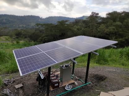 Conexion a tierra_energia solar_zni_Colombia