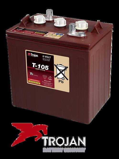 Batería Solar Trojan T105-6V-225 amp-h