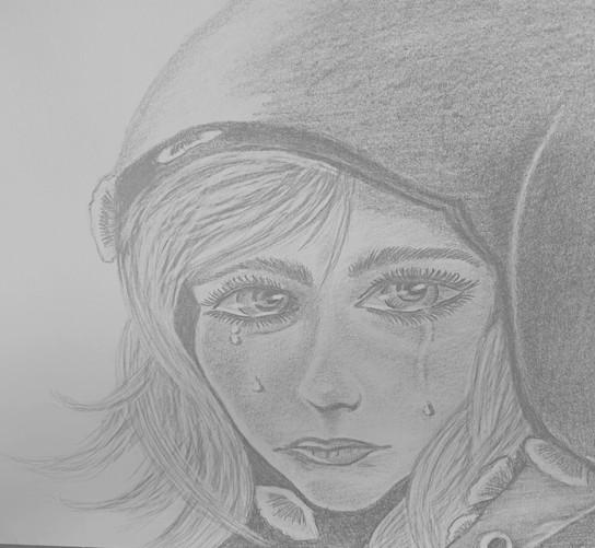 pencile portrait