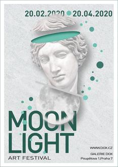 MOONLIGHT art festival advert poster