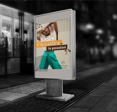 advert light billboard