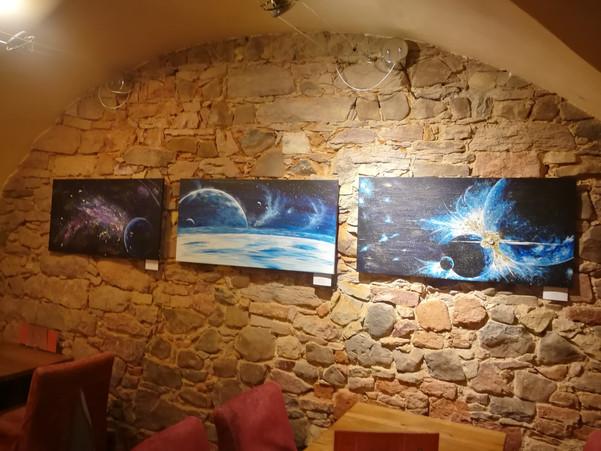 Série obrazů Lehkost Vesmíru