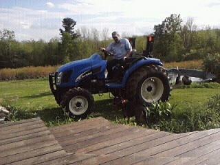 Joe and his tractor