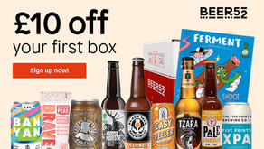 Beer52 - £10 Off Your First Box Of Quality Craft Beers