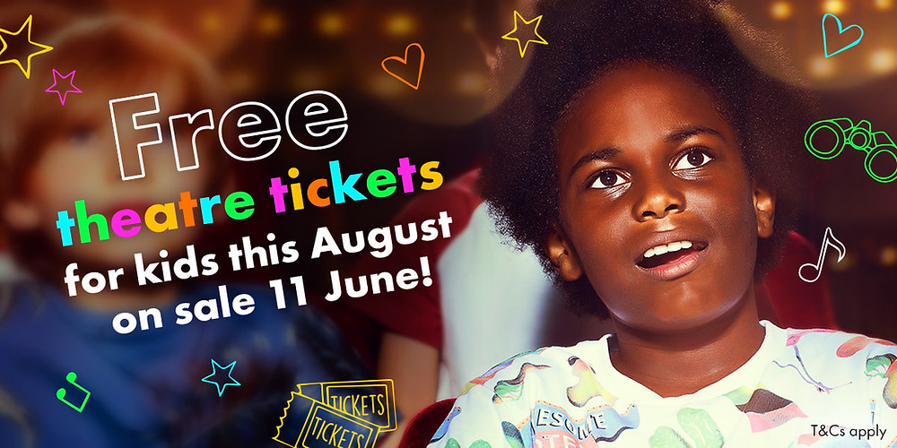 FREE Kids London Theatre Tickets This August
