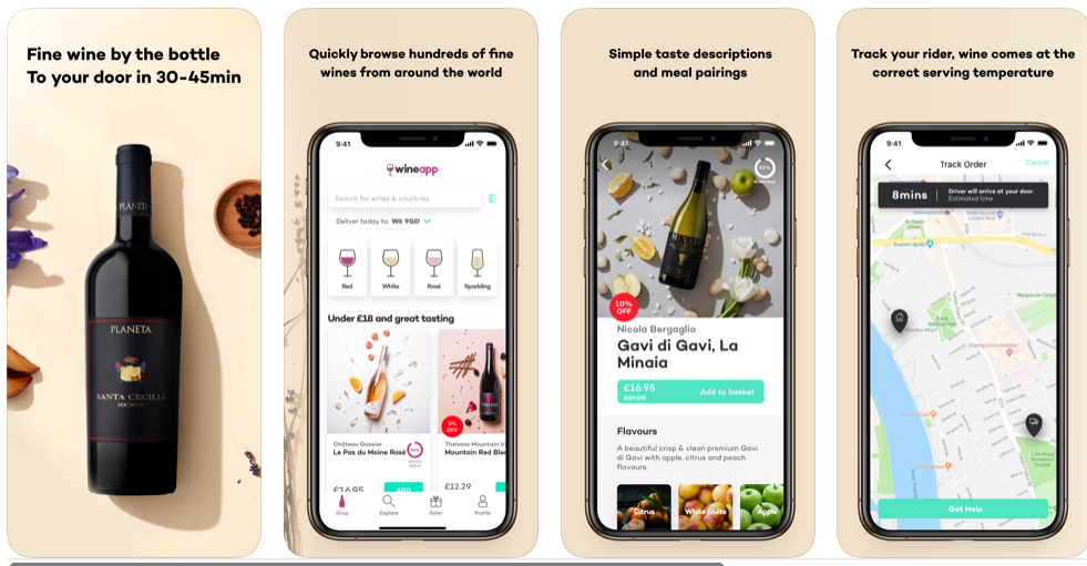 Grab £15 Of Wine App Credit For Free!
