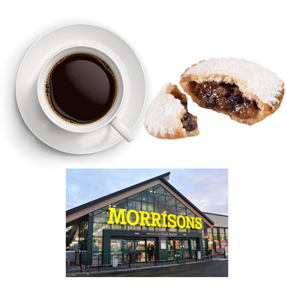 MORRISONS is offering FREE hot drinks and mince pies to its senior customers on December 3rd