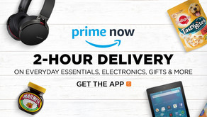 Amazon Prime Now £10 Off Promotion Now On!