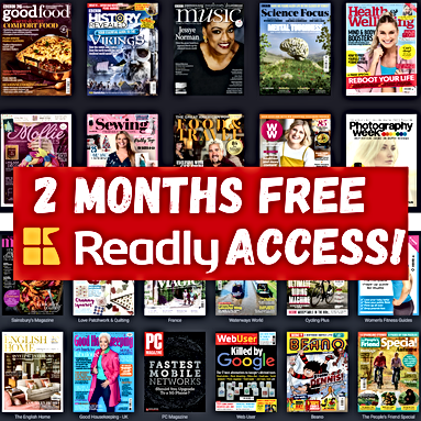 Grab 2 months of free Readly access with thepennypincher.co.uk
