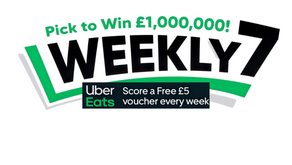 Fancy a Free £5 Uber Eats Voucher Weekly?