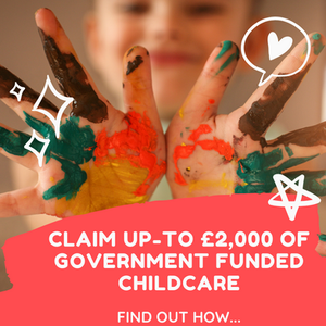 Find out if you are eligible for up-to £2,000 of government funded childcare help