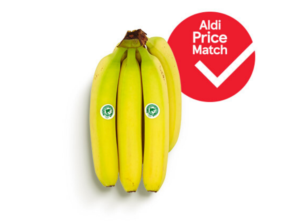 Items, both online and in-store, will be highlighted with an Aldi Price Match sticker to highlight the fact that the price has been  recently checked.