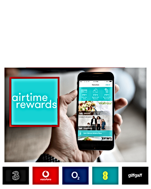 Grab cashback at Morrisons and Primark with Airtime Rewards