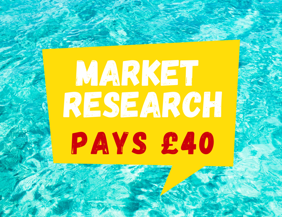 Looking for people to take part in a paid market research project in the South of the UK