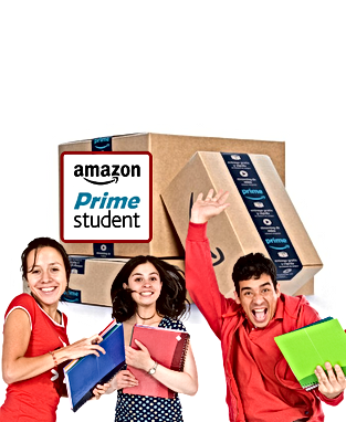 FREE Amazon Prime mebership for students - find out more
