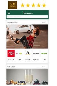 Top Cashback - The UK's largest cash back provider