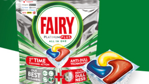 Free Fairy Dishwasher Tablets Sample Pack