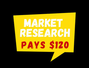 $120 Holiday Maker Market Research Study