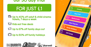 Grab Kids Pass Membership For Kids Offers For £1!