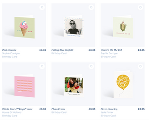 £15 of store credit, for all new customers, from Papier