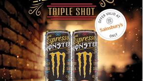 Free Espresso Monster Triple Shot - Ends Nov 19th