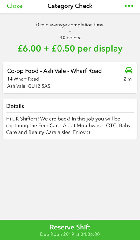 Easy Shift - Decent paying, Mystery Shopping tasks for the UK