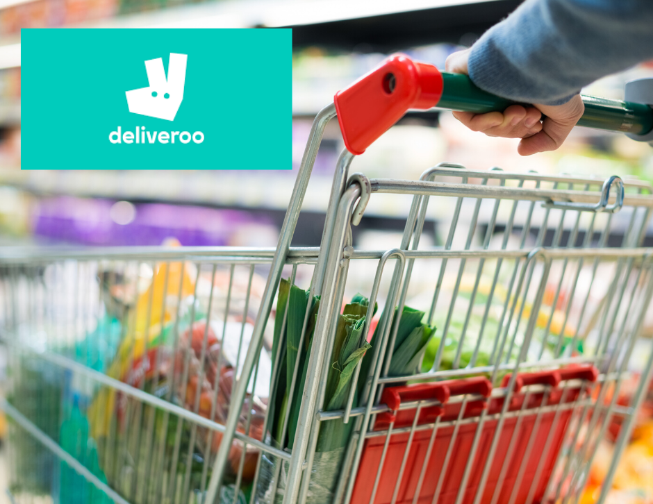 Deliveroo expand into supermarket/ convenience store deliveries..