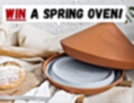 Win a Spring Oven terracotta bread maker with The Spring Oven and The Penny Pincher