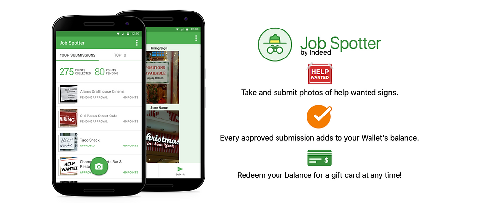 Earn Amazon Vouchers by snapping job vacancy signs while out shopping