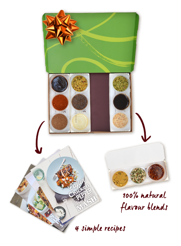 Spice up your life with these fantastic spice kits, and get your first one for £1!