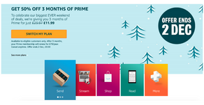 ❌ EXPIRED ❌ Amazon Prime Deal Shift Offer - £11.99 For 3 Months Prime!