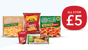 Latest Co-op Five For £5 Freezer Deal Now Live..