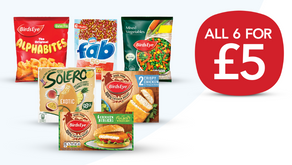 The Latest 5 For £5 Co-op Freezer Deal!