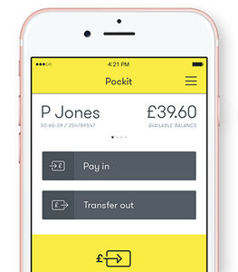 No credit checks, small 99p monthly fee, for a fully functioning back account and debit card
