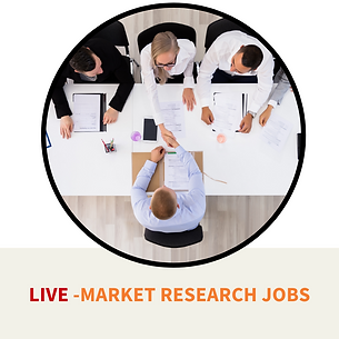 Live market research jobs
