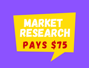 $75 Reward In This Food Related Research Project
